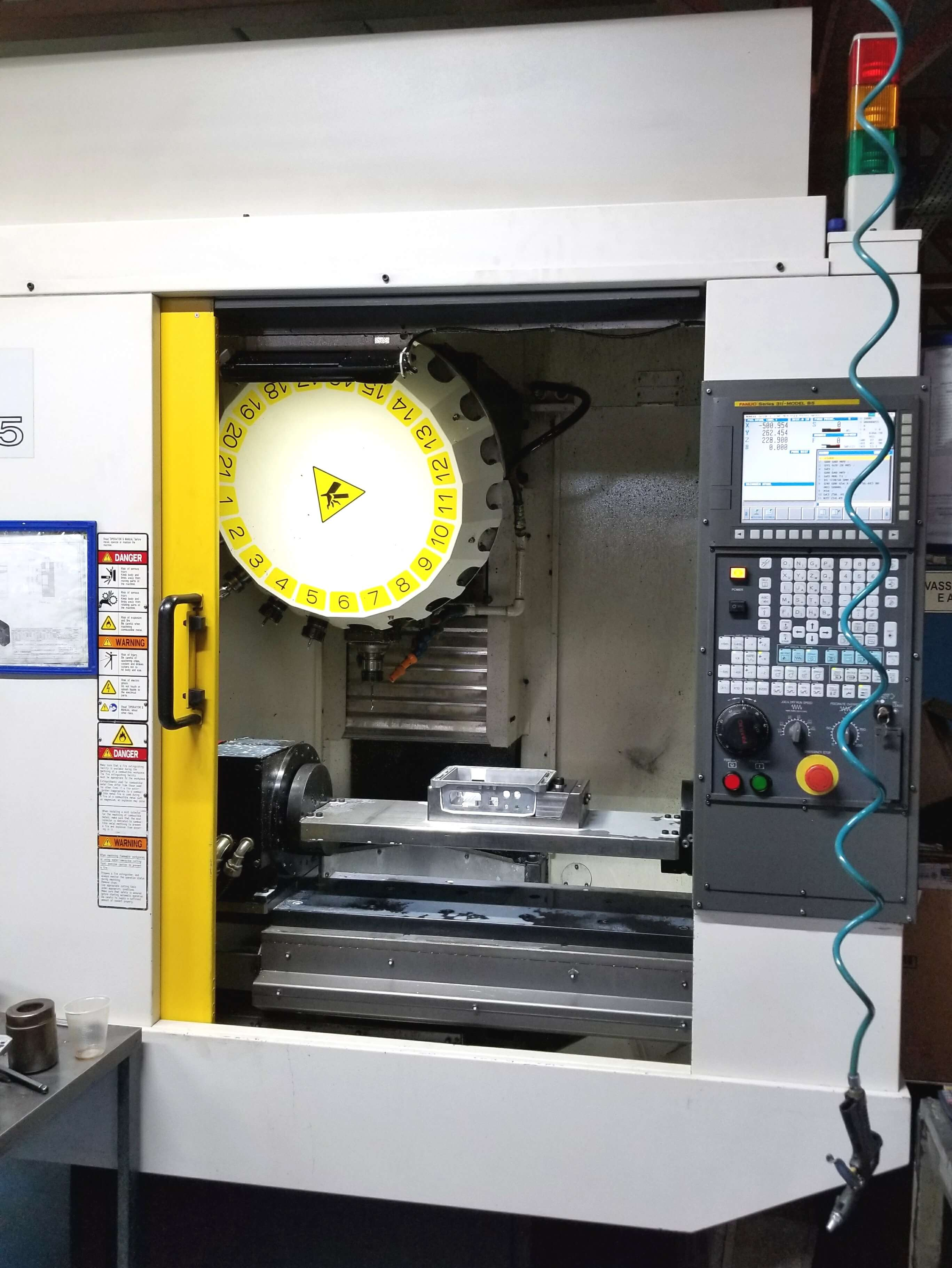 Machining and Finishing
