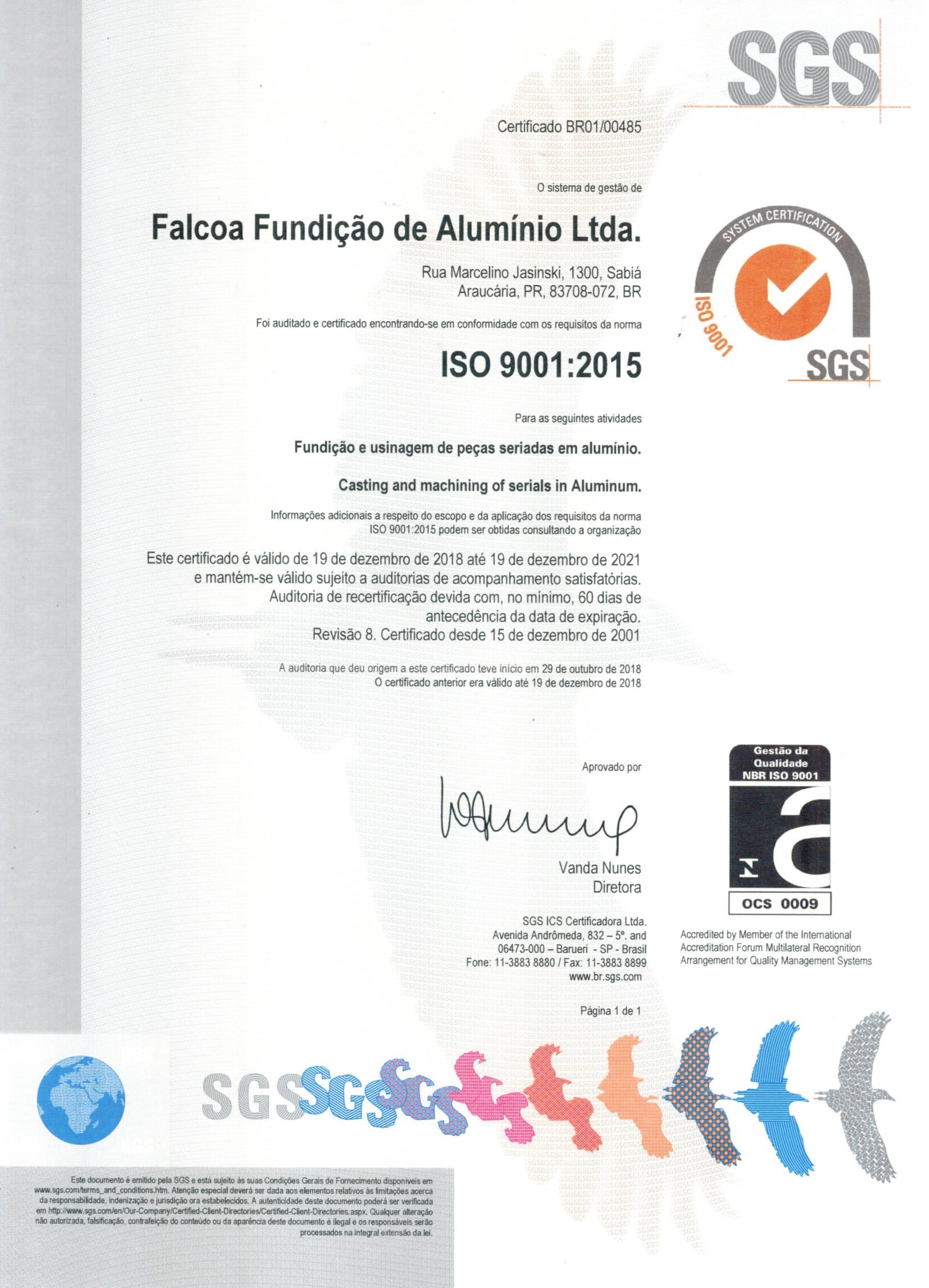 NBR ISO 9001/2008